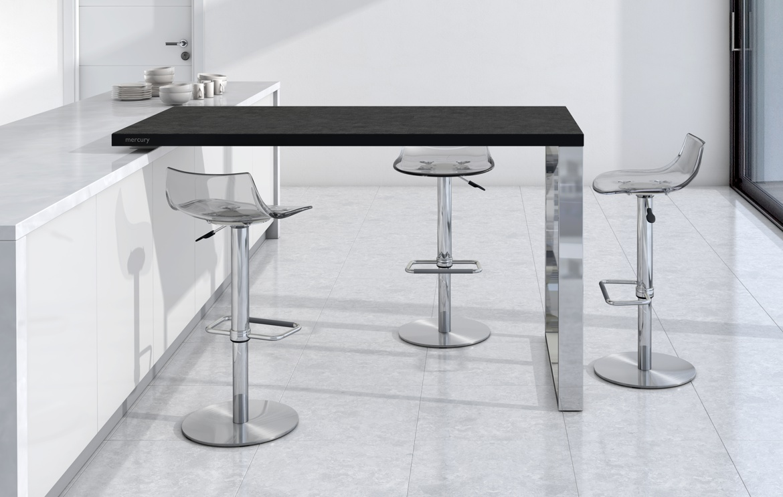 Mesas y sillas cocina y comedor taburetes altos y bajos for Mesa barra cocina
