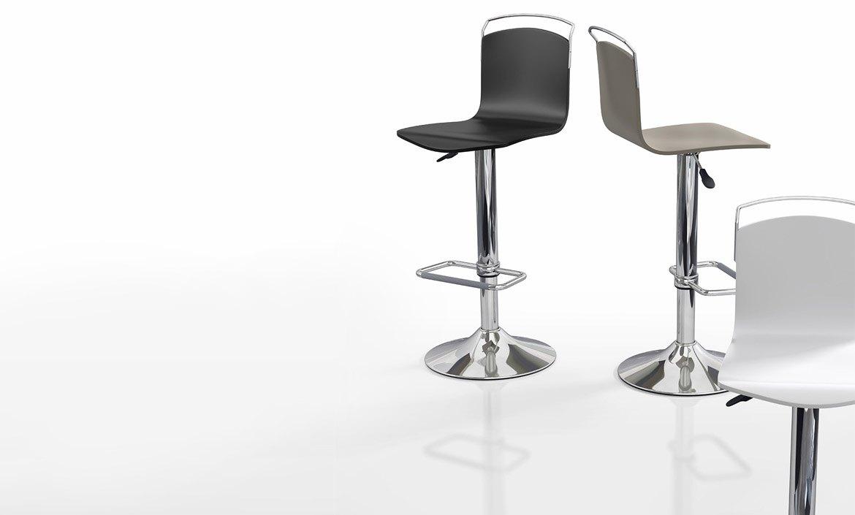 Mesas y sillas cocina y comedor taburetes altos y bajos - Taburetes de madera leroy merlin ...